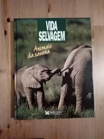 Livro Vida Selvagem - Animais da Savana