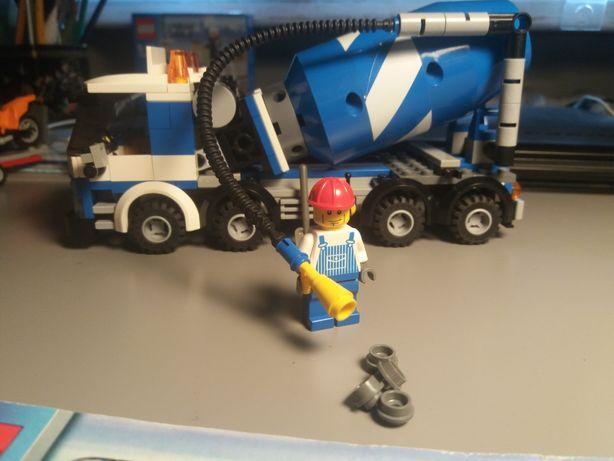 Klocki lego betoniarka 7990