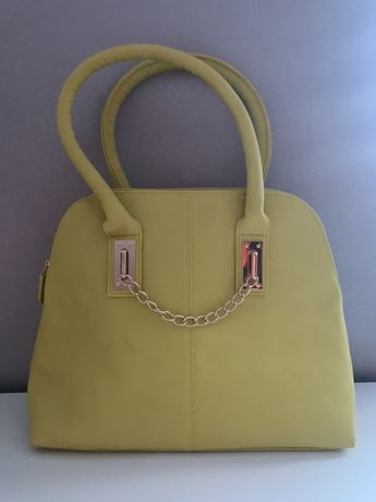 Żółta torba średnia