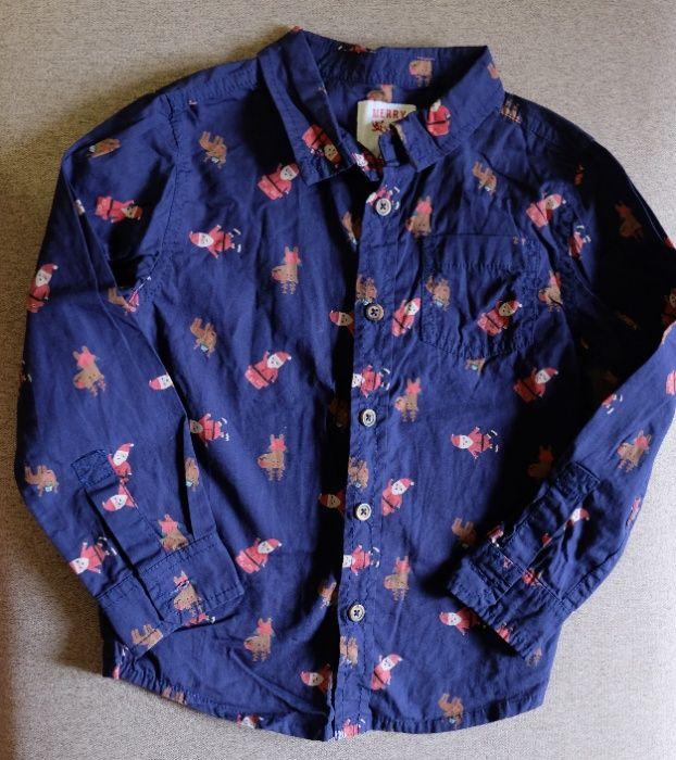 Новогодняя рубашка на мальчика Дніпро - зображення 1