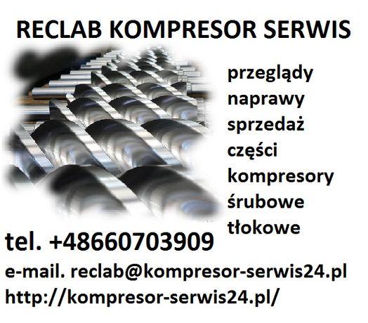Naprawa, serwis sprężarek, kompresorów