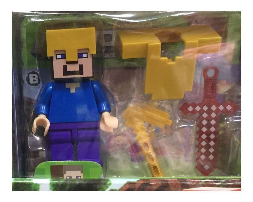MINECRAFT FIGURKA STEVE Zestaw My World Zabawka Dla Dzieci Radom - image 1