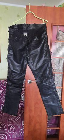 Męskie spodnie na motor