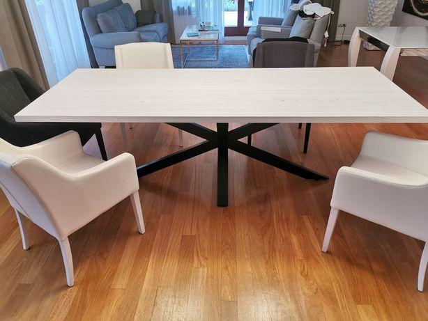 Stół marki Zato stal drewno salon loft industrial 250cmx100cm