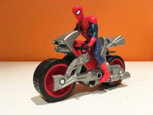 Spider man & motocykl _ jak nowy