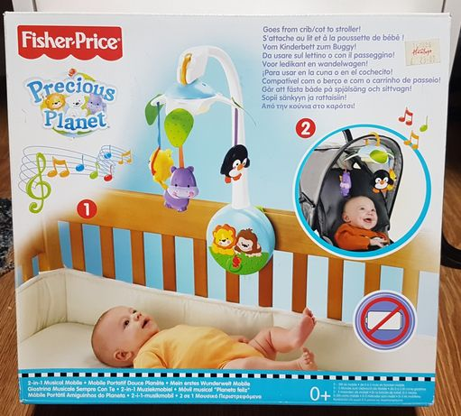 Pozytywnka Fischer Price dla niemowlaków. Uszkodzony mechanizm