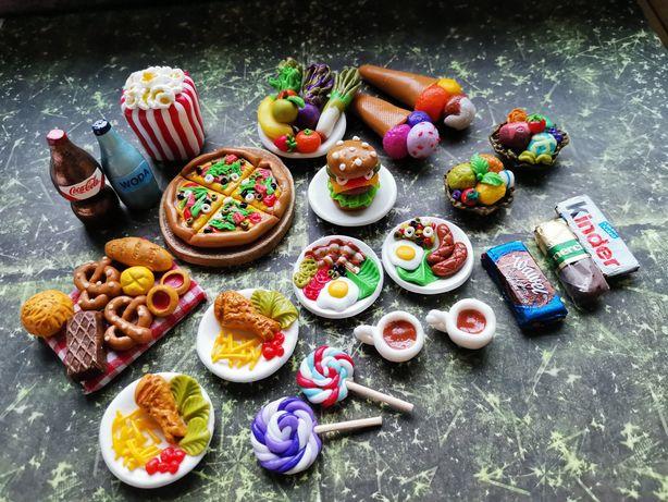 Jedzenie modelina lalki Barbie, Schleich, Maileg, farma zwierzęta