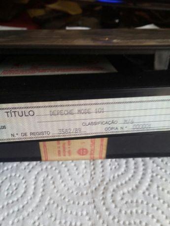 Depeche Mode 101. Cassete VHS n°1