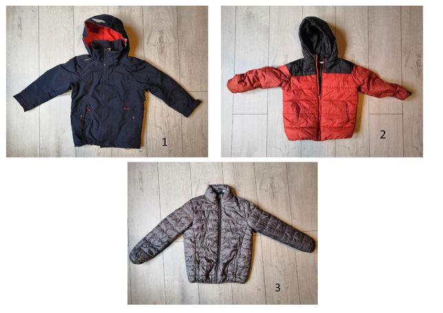 Zestaw kurtek dla chłopca - 110-120 - Oryginalne w stanie idealnym