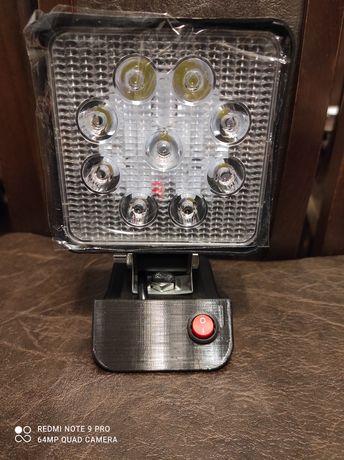 Lampa robocza LED do baterii Ryobi 18V