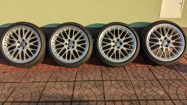 Koła audi speedline, 9Jx19H2 et41, pirelli pzero 245/35r19