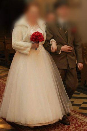 Suknia ślubna 46-48