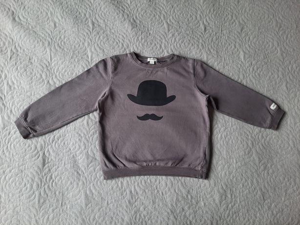 Bluza Newbie kapelusz i wąsy 98-104