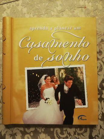 Livro Aprenda a planear um casamento - Nunca usado
