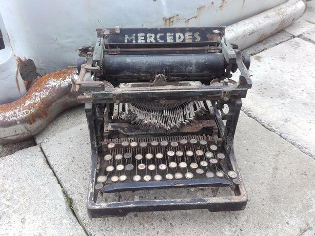 Zabytkowa stara maszyna do.pisania MERC.dla kolekcjonera