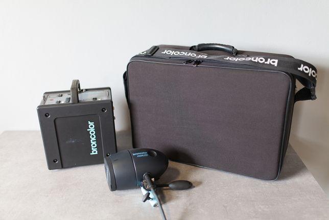 Gerador Broncolor A2L + Cabeça Flash Mobiled - Travel Kit