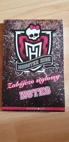 Notes monster high nowy OKAZJA