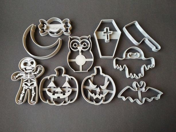Вырубка форма для печенья/пряников/мастики Halloween Хэллоуин набор #2
