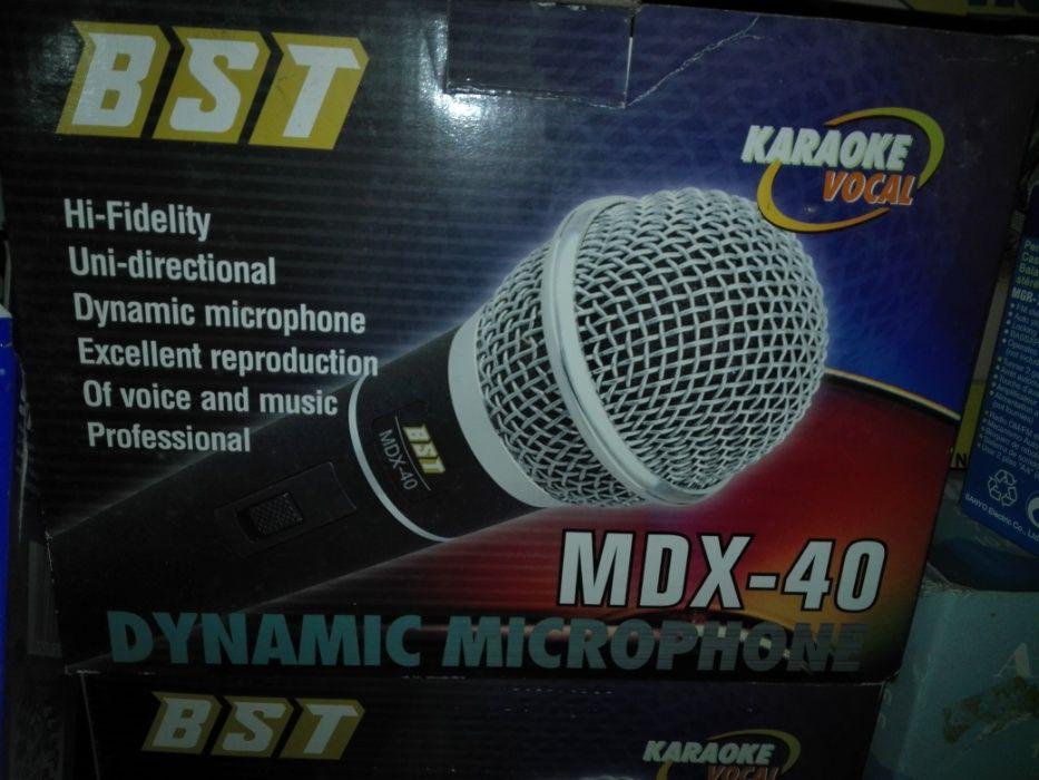 Microfone BST MDX -40