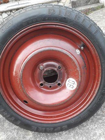 Kolo dojazdowe Pirelli 4*108 peugeot 206