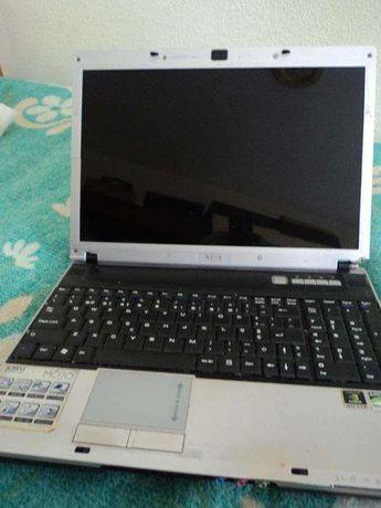 computador portátil msi