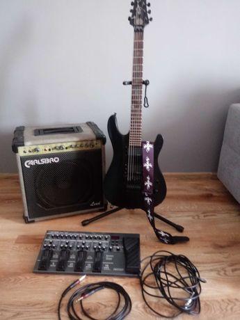 Gitara elektryczna + dodatki