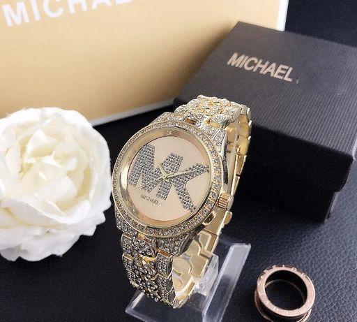 Женские часы Michael Kors качественные брендовые наручные часы золото