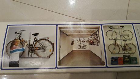 Niemiecki wieszak uchwyt rowerowy naścienny NOWY