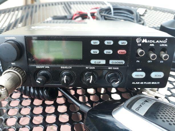 Sprzedam Alan 48 Plus multi z nową anteną