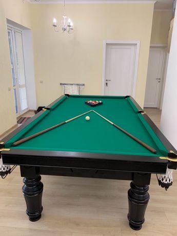 """Бильярдный стол """" Неаполь"""" 8 футов, більярний стіл."""