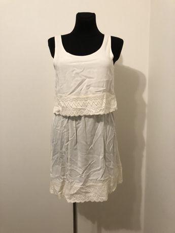 Sukienka letnia ecru r. M