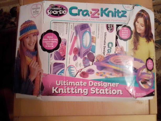 Набор для вязания Crazy Z Knitz. Состояние нового.