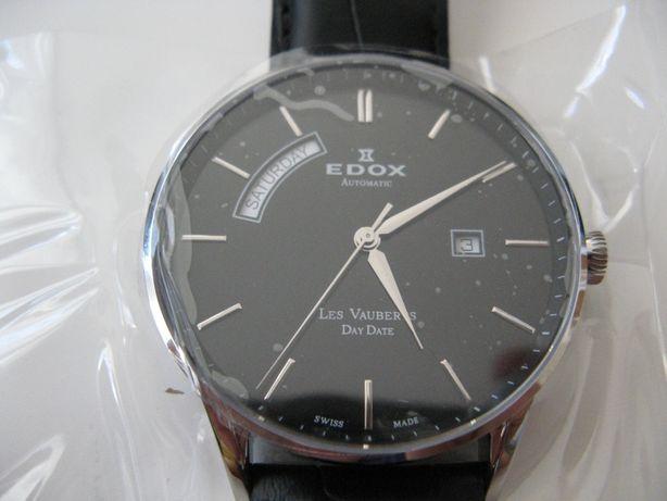 Edox, Les Vauberts Day Date Automatic.
