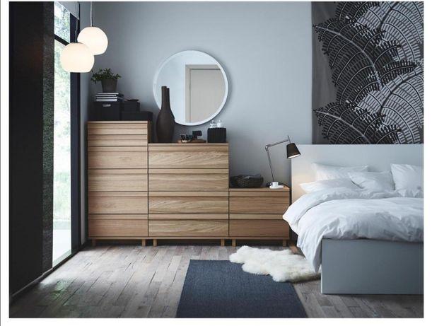 Cómodas Oppland Ikea Carvalho