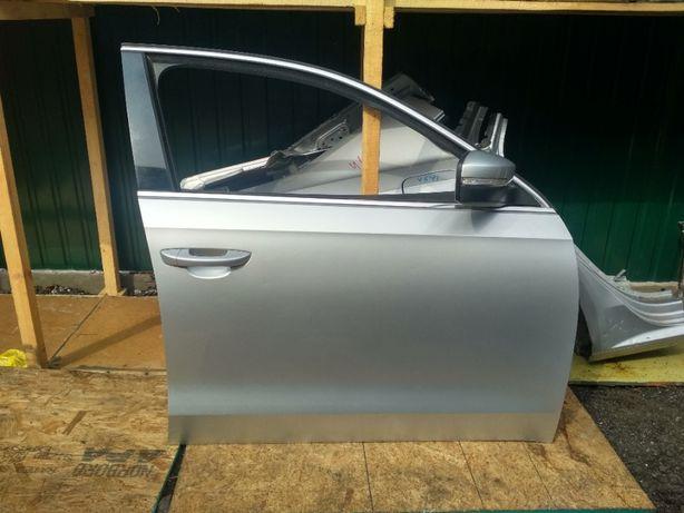 Дверь передняя правая, цвет 8E A7W оригинал VW Passat B7 USA БУ