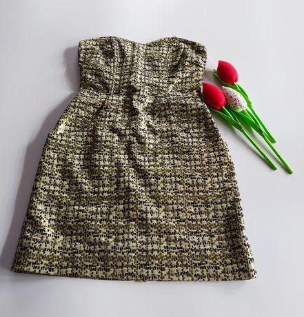 Sukienka złota XS