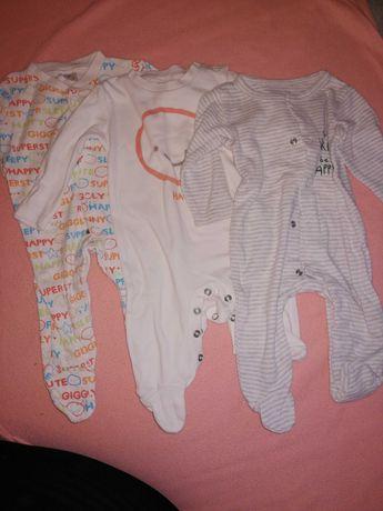 Zestaw 3 szt. piżamek niemowlęcych