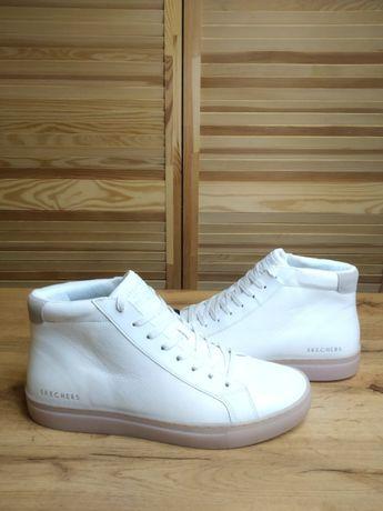 Skechers Side Street Arkline Кожаные мужские кроссовки р45 Оригинал!