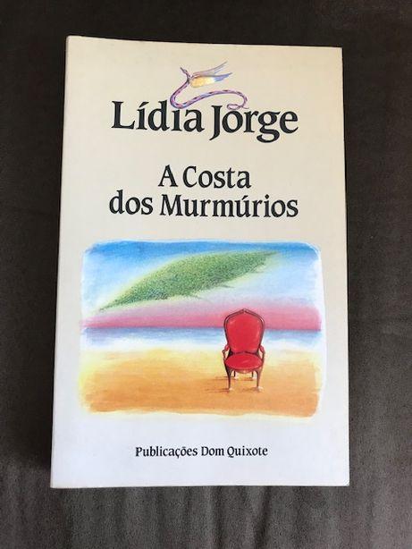 """Livro """"A Costa dos Murmúrios, de Lídia Jorge (Publicações Dom Quixote)"""