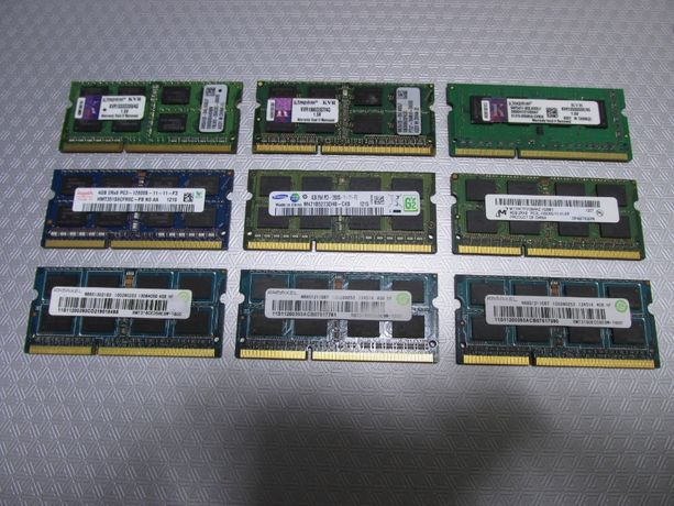 4Gb DDR3 So-Dimm Оперативная память для ноутбука ОЗУ Опреративка