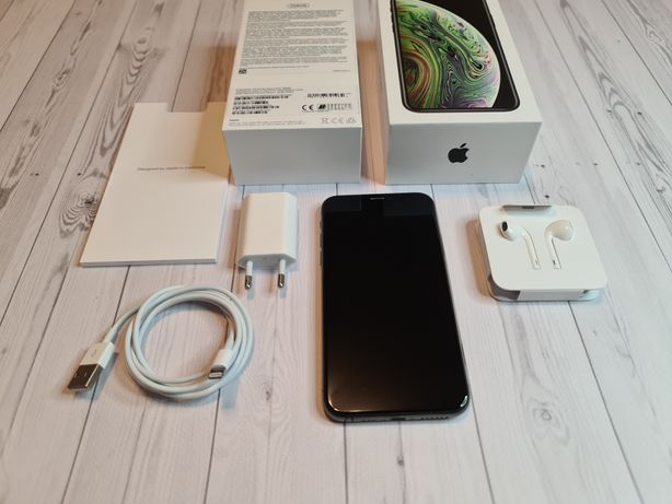 iPhone Xs 256 Gb Space Gray Ideał! Cały komplet