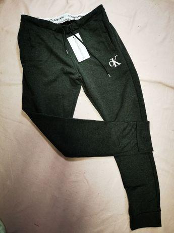 Dresy męskie Calvin Klein CK dres ciemno szare nowość OUTLET premium