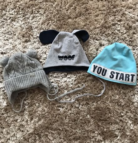 Шапочки для мальчика, шапка для малыша мальчика, детская шапка на зиму