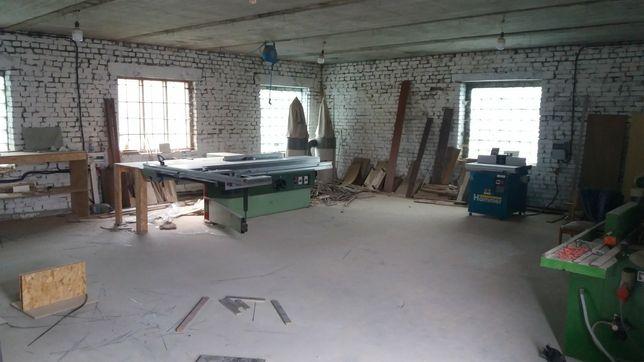 Продається столярний цех по виготовленю меблів