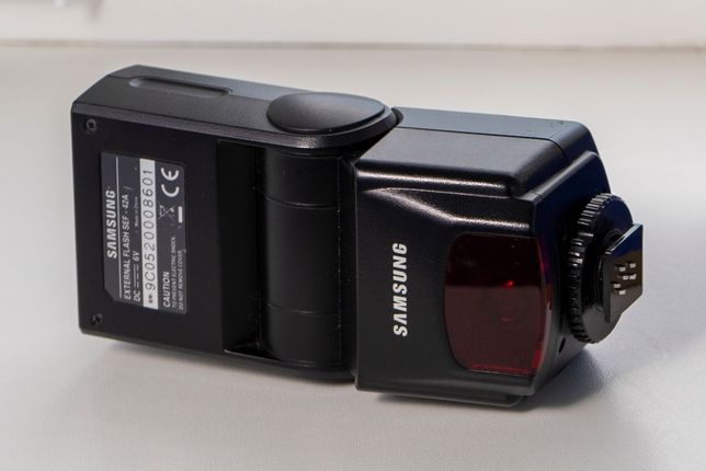 Вспышка Samsung GN42 External Camera Flash SEF42A c TTL кабелем JJC