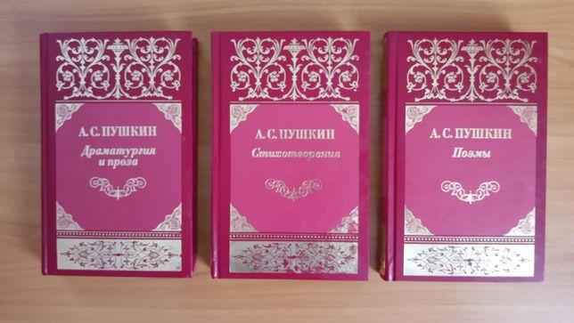 Набор книг А.С.Пушкина