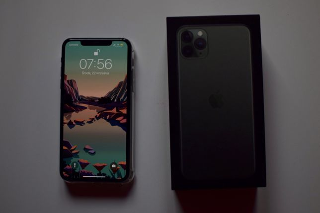 Iphone 11 Pro Max 64Gb /Stan Jak Nowy/