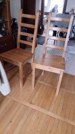 Krzeslo Ikea Lite drewno. Nie sosna.