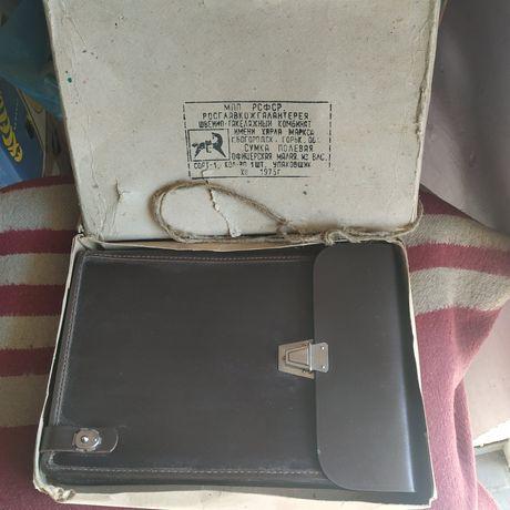 Новая офицерская полевая сумка 1975 года СССР