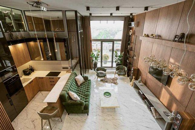 ПЕНТХАУС с дизайнерским ремонтом, 92 м²,Парк Авеню, Голосеевский пр 60